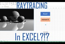 Photo of Raytracing w Excelu?!
